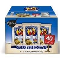 Pirate's Booty Baked Puffs, Aged White Cheddar (0.5 oz., 40 pk.)