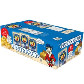 Pirate's Booty Aged White Cheddar Puffs (0.5 oz., 36 ct.)