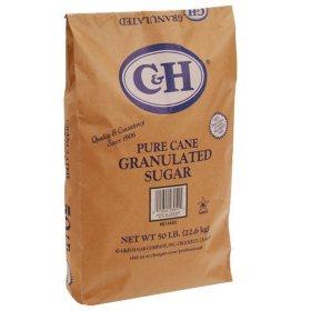 C&H Granulated Sugar - 50 lb. bag