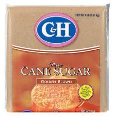 C&H Golden Brown Sugar - 4 lb. bag