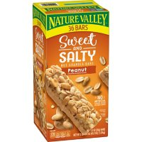 Nature Valley Sweet and Salty Nut Peanut Granola Bars (36 ct.)
