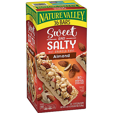 Nature Valley Sweet and Salty Nut Almond Granola Bars (36 ct.)