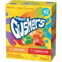 Gushers Strawberry Splash and Tropical Flavors (0.8 oz., 42 ct.)