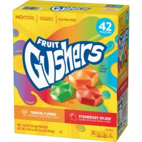 Fruit Gushers Variety Pack (0.8 oz., 42 ct.)