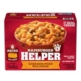 Hamburger Helper Cheeseburger Macaroni (6.6 oz., 8 pk.)