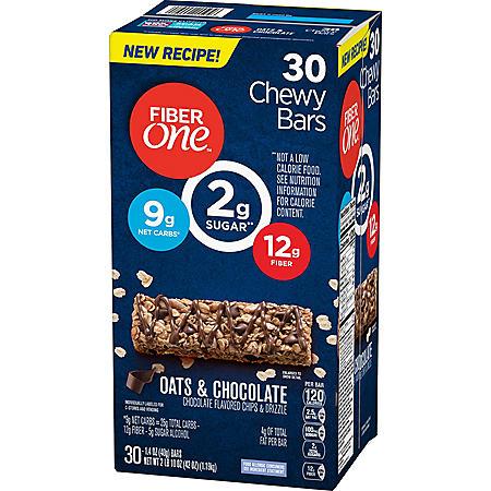 Fiber One Oats & Chocolate Chewy Bars (1.4 oz., 30 ct.)