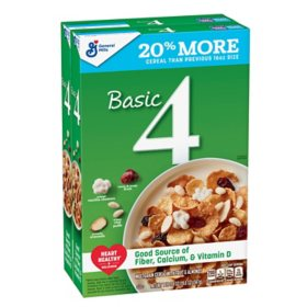 Basic 4 Multigrain Cereal, Fruit and Nuts (2 pk.)