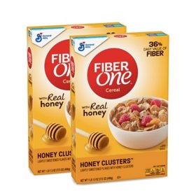 Fiber One Cereal, Honey Clusters (2 pk.)