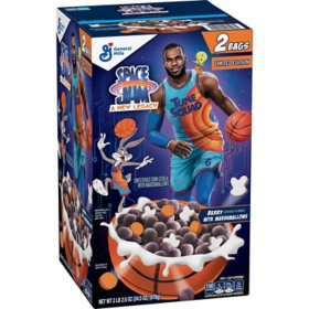 Space Jam Cereal, Berry with Marshmallows (34.5 oz.)