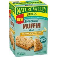 Nature Valley Lemon Poppyseed Muffin Bar 28CT