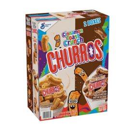 Cinnamon Toast Crunch Variety Pack, Churros & Chocolate Churros (2 pk.)