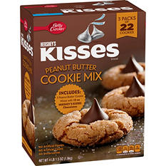 Hershey's Kisses Peanut Butter Blossoms - 4 lbs.
