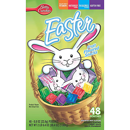 48CT EASTER FRUIT SHAPES