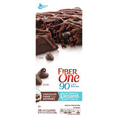Fiber One 90 Calorie Chocolate Fudge Brownies (0.89 oz., 38 ct.)