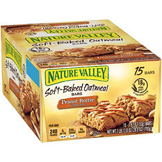 Nature Valley Peanut Butter Oatmeal Squares (1.87 oz., 15 ct.)