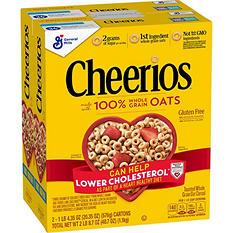 Cheerios Gluten-Free Cereal (20.35 oz., 2 pk.)