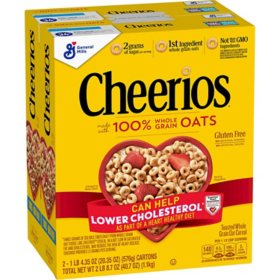 Cheerios Gluten-Free Cereal (20.35 oz., 2 pk.)