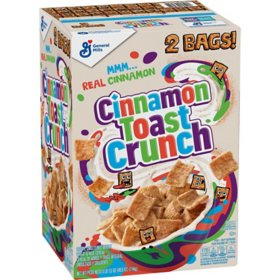 Cinnamon Toast Crunch Cereal (49.5 oz., 2 pk.)