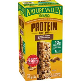 Nature Valley Peanut Butter Dark Chocolate Protein Chewy Bars (1.42 oz., 30 pk.)