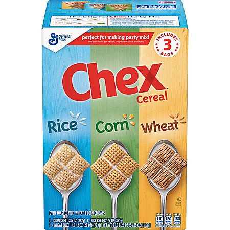 Triple Chex Rice, Wheat and Corn (3 pk.)