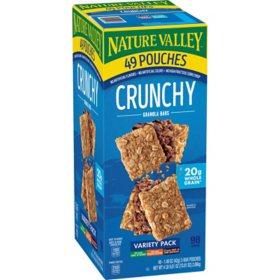 Nature Valley Crunchy Granola Bars, Variety Pack (49 ct.)
