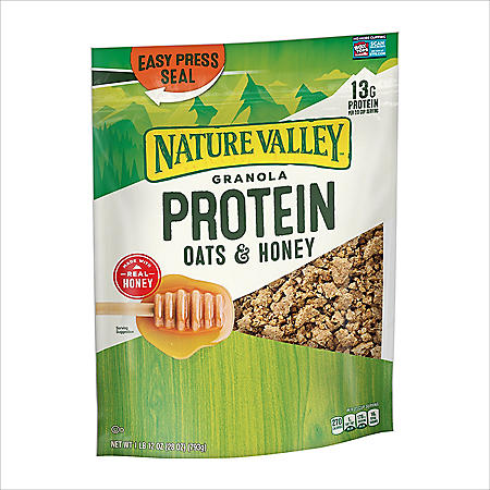 Nature Valley Oats 'n Honey Protein Granola Cereal (28 oz.)