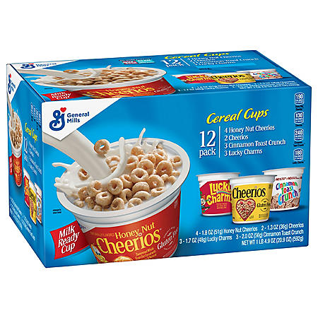 Big G Breakfast Cereal Cups, Variety Pack (12 ct.)