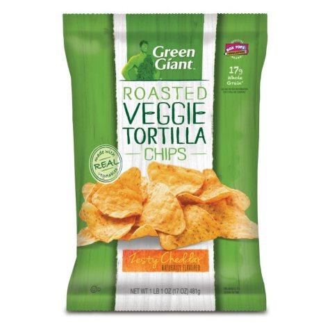 Green Giant Zesty Cheddar Roasted Veggie Chip - 17 oz.