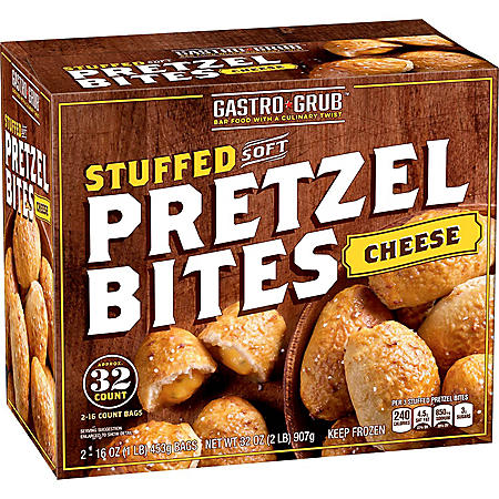 Gastro Grub Cheese Filled Soft Pretzel Bites (32 oz., 32 ct.)