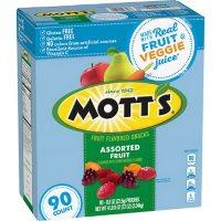 Mott's Medleys Assorted Fruit Snacks, Gluten Free (0.8 oz., 90 ct.)