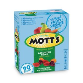 Mott's Medley Assorted Fruit Snacks (0.8 oz., 90 ct.)