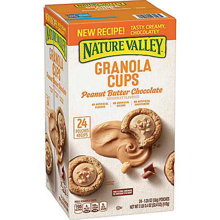 Nature Valley Granola Cups Peanut Butter Chocolate (24 ct.)