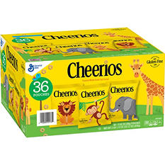Cheerios On-the-Go Cereal Pouches (33.12 oz., 36 ct.)