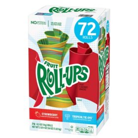 Fruit Roll-Ups, Variety Pack (0.5 oz., 72 ct.)