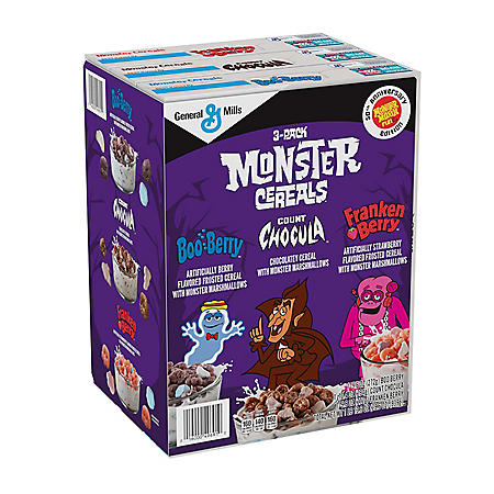 Monsters Cereal Triple Variety Pack (29.6 oz.)