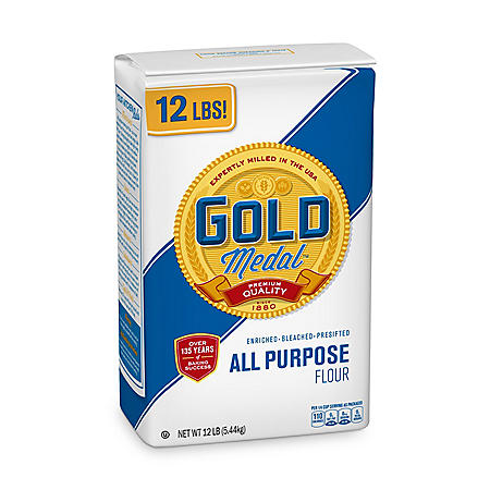 Gold Medal All Purpose Flour (5.44 kg., 12 lbs.)
