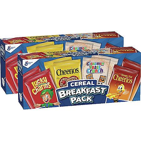 Big G Breakfast Cereal Variety Pack (16 pk.)