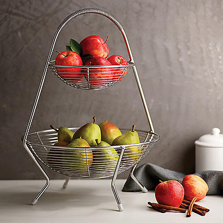 Tramontina Stainless Steel Fruit Basket