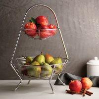 Tramontina Stainless Steel Fruit Basket