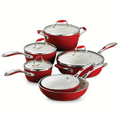 Tramontina Ceramica Deluxe 10-Piece Cookware Set