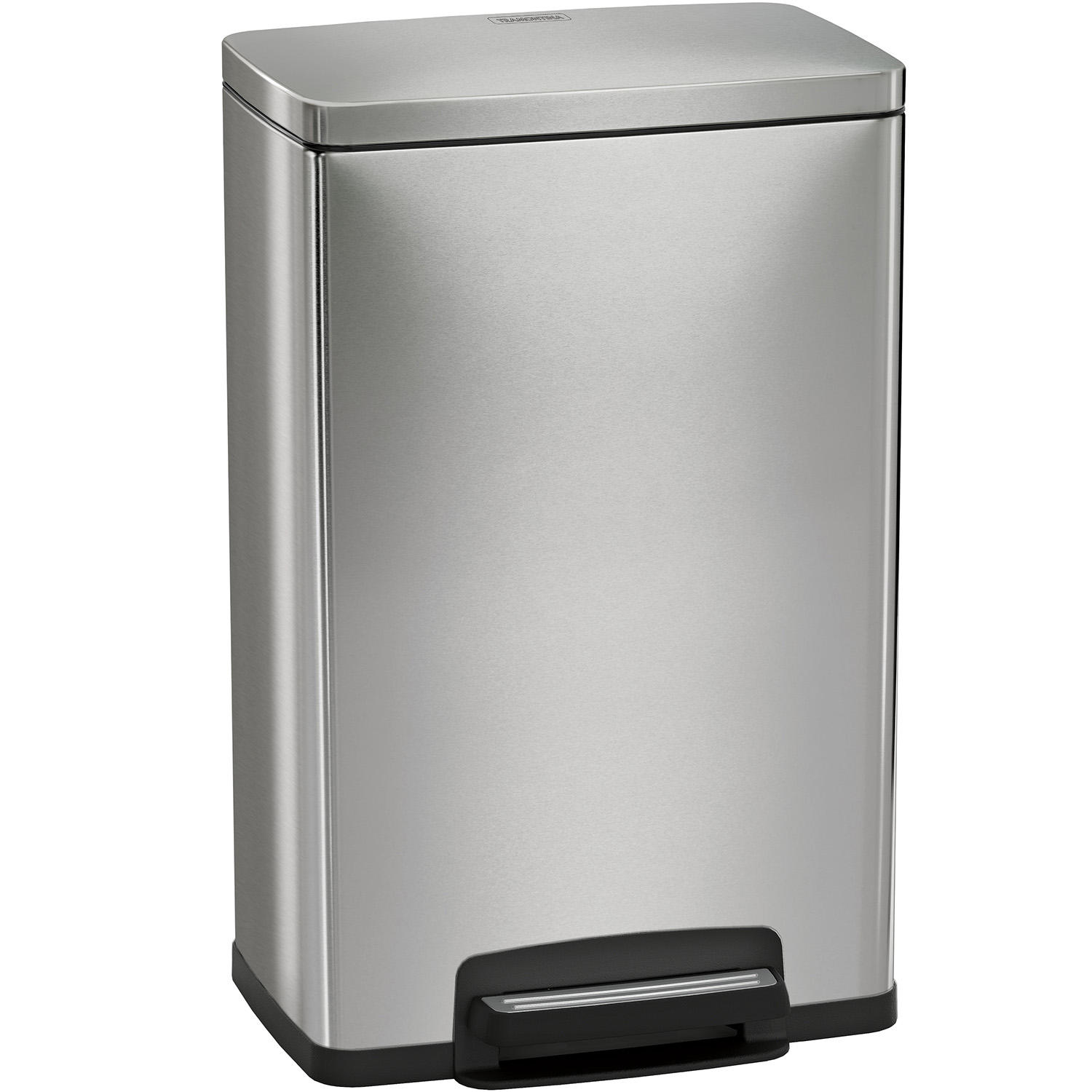 Tramontina 13 Gallon Stainless Steel Step Trash Can