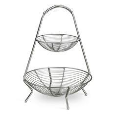 Tramontina Stainless-Steel Fruit Basket