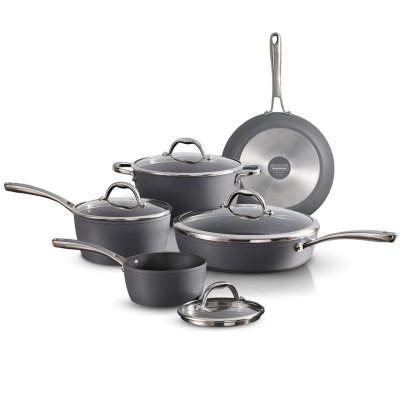 Tramontina 9-piece Stainless Steel Cookware Set