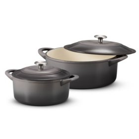 Tramontina Dutch Oven Set, 2-pack (Assorted Colors)