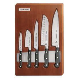 5-Piece Professional Forged Cutlery Set with Tray