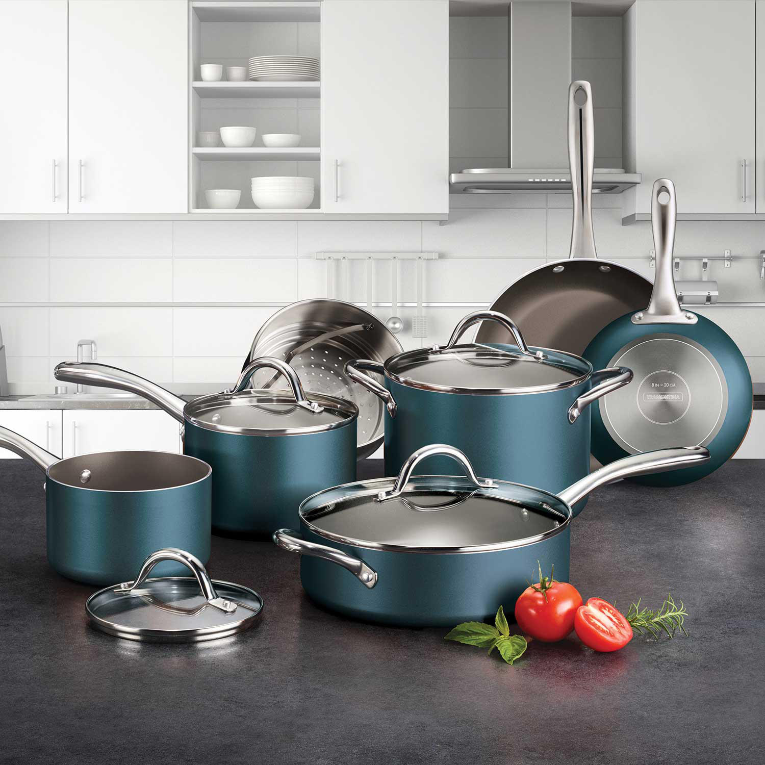Tramontina 11-Piece Nonstick Cookware Set