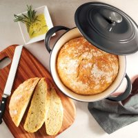 Tramontina Enameled Cast Iron 7-Quart Covered Round Dutch Oven (Assorted Colors)