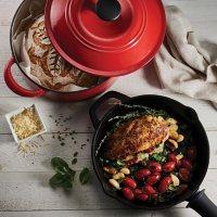 Tramontina 3-Piece Kitchen Essentials Cast Iron Cookware Set (Assorted Colors)