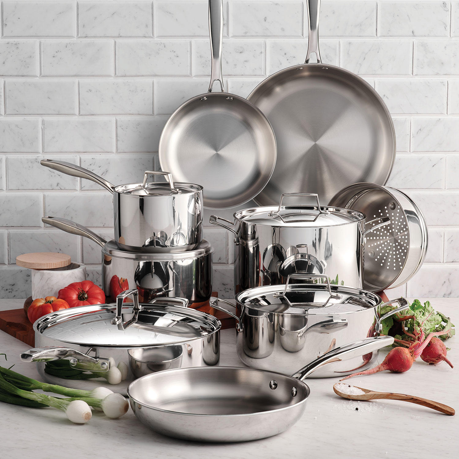 14-Piece Tramontina Cookware Set