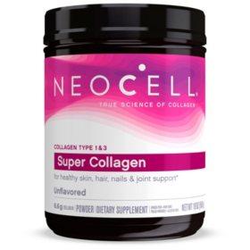 NeoCell Super Collagen Unflavored Powder, Collagen Type 1 & 3 (19 oz.)